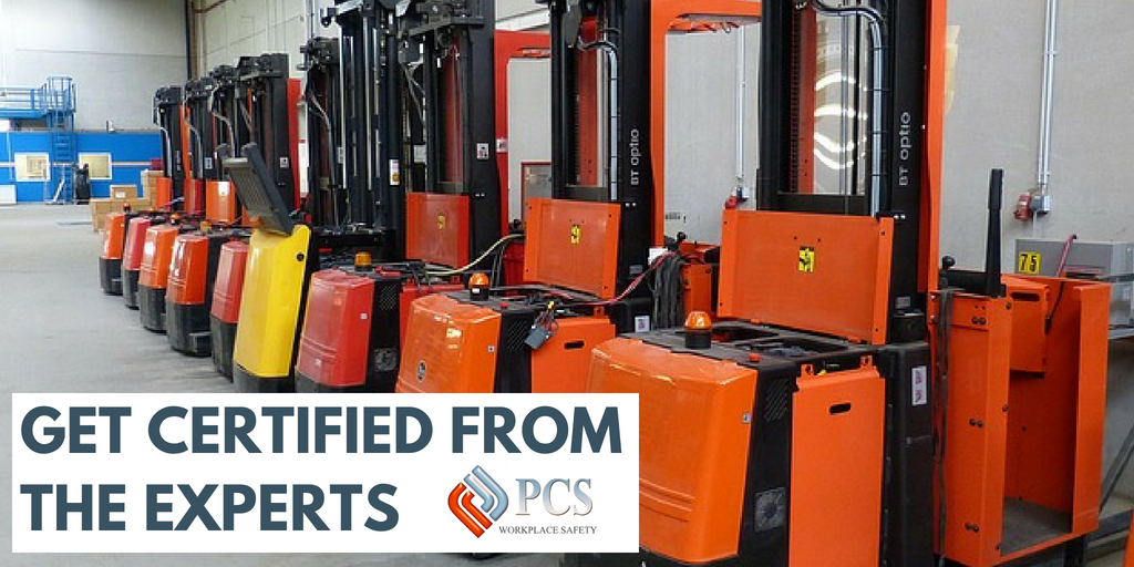 Get Certified From The Experts Employees With Forklift